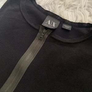 Armani Exchange zipped shirt
